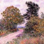Edge of the Fountainbleau Forest Morning – Alfred Sisley