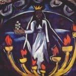 Elder With Seven Stars - Natalia Goncharova