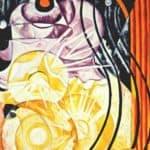 Electric lamp – Natalia Goncharova