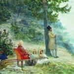 Emperor Nicholas I and Empress Alexandra Feodorovna – Ilya Repin