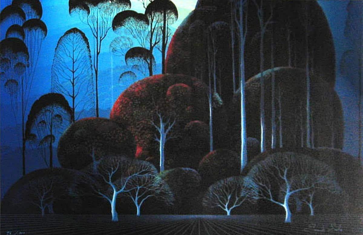 Enchanted Forest - Eyvind Earle