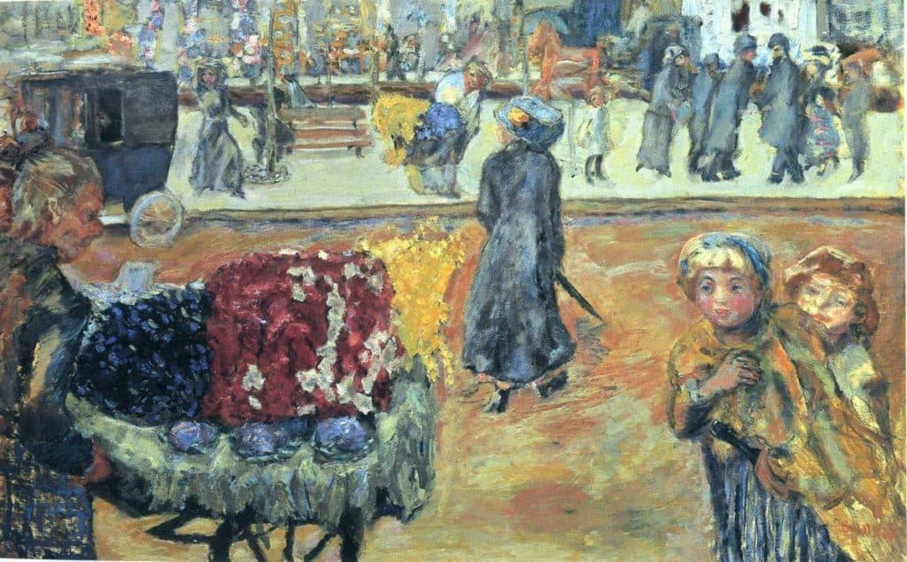 Evening In Paris - Pierre Bonnard