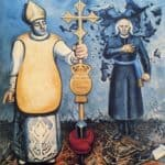 Excommunication and Execution of Father Hidalgo – David Alfaro Siqueiros