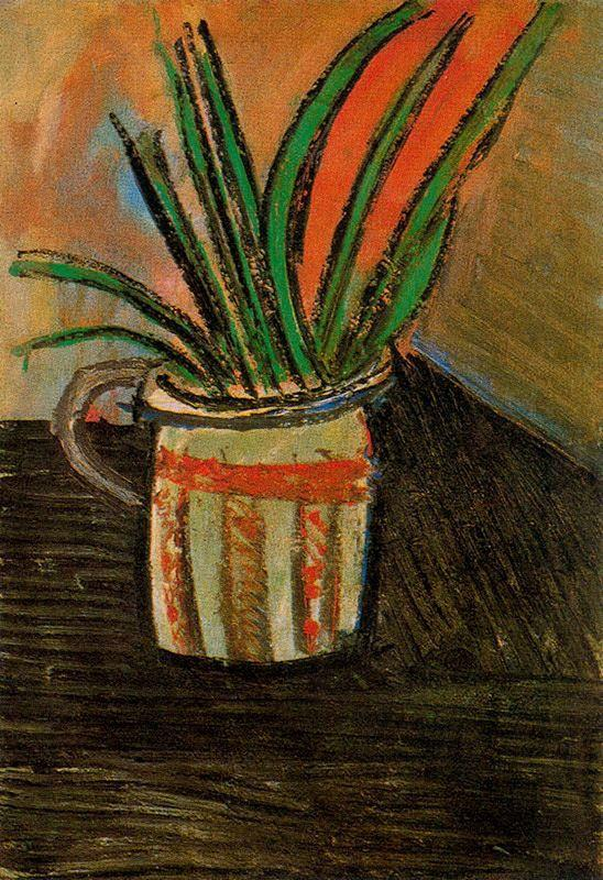 Exotic Flowers - Pablo Picasso