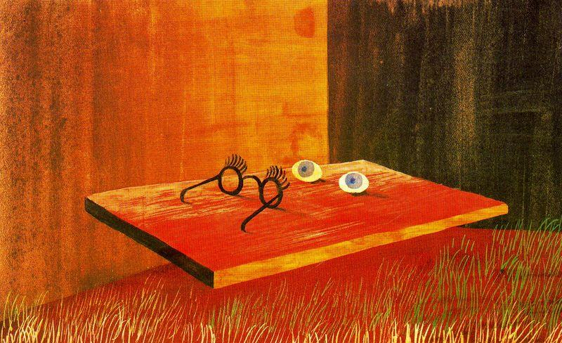 Eyes On The Table - Remedios Varo