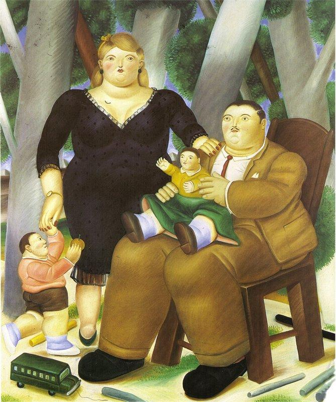 Family - Fernando Botero