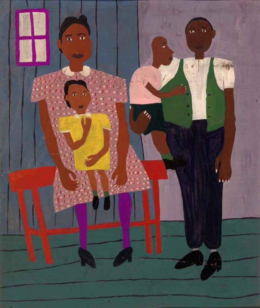 Family Portrait - William H. Johnson