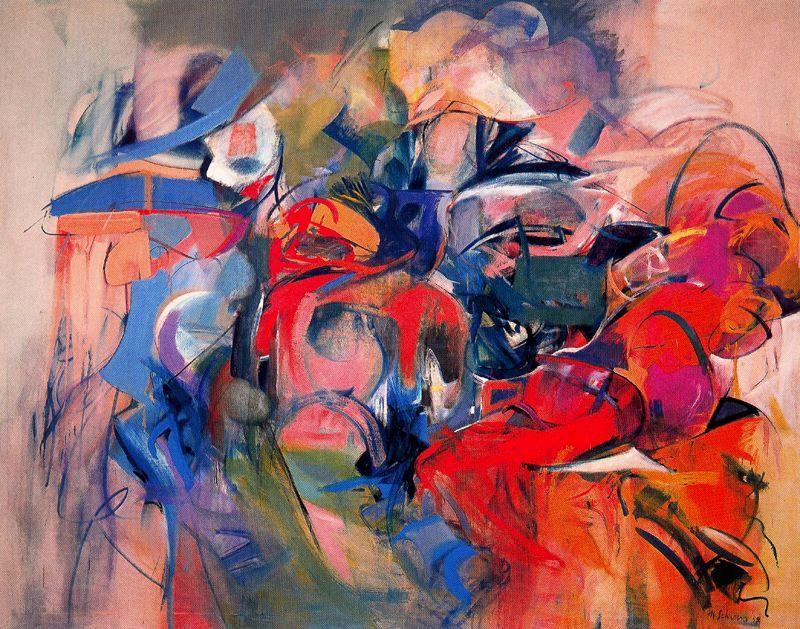 Fanfare - Miriam Schapiro