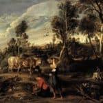 Farm at Laken – Peter Paul Rubens
