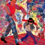 Father and Daughter  - Miriam Schapiro