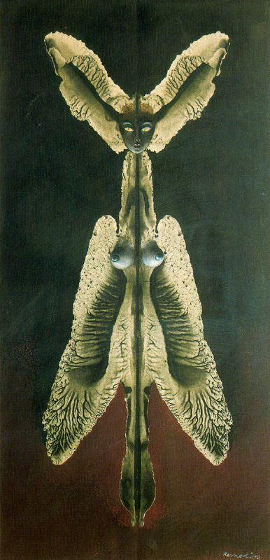 Female spirit of the night - Remedios Varo