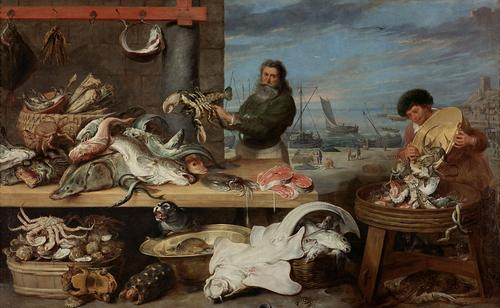 Fish Market - Cornelis De Vos