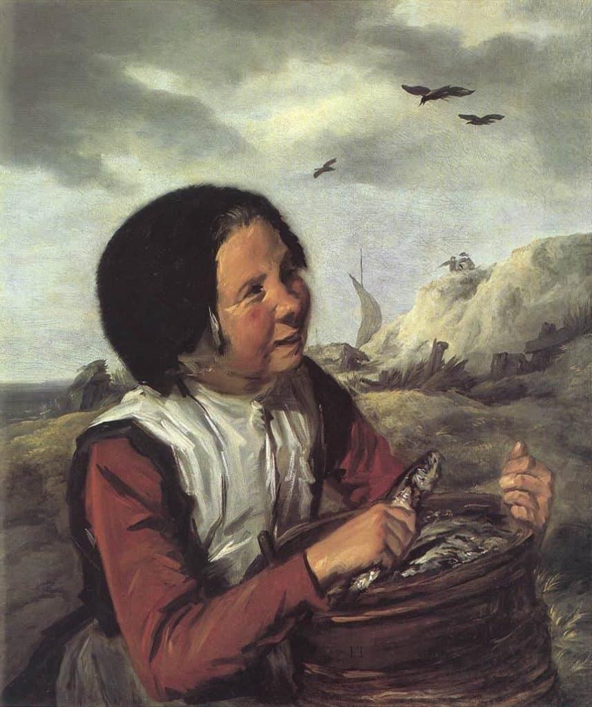 Fisher Girl - Frans Hals