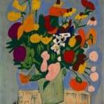 Flowers – William H. Johnson