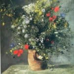 Flowers in a Vase – Adolphe Joseph Thomas Monticelli