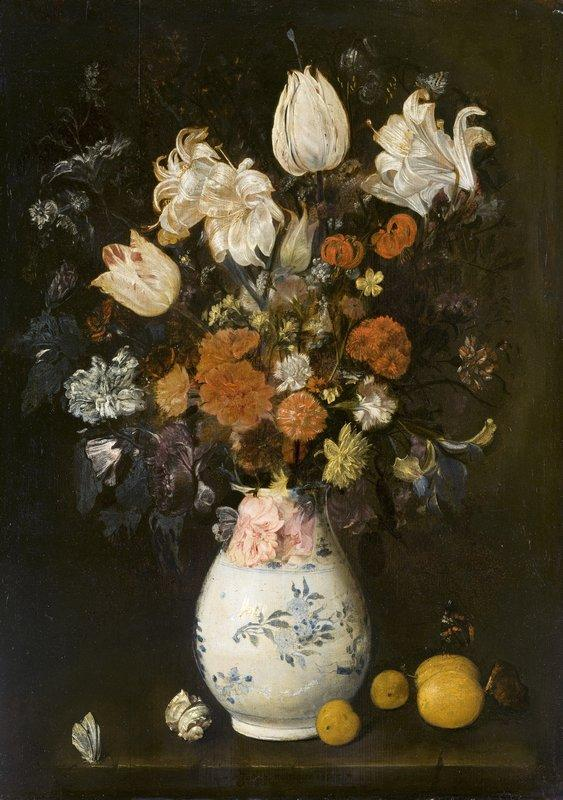 Flowers In a Vase - Judith Leyster