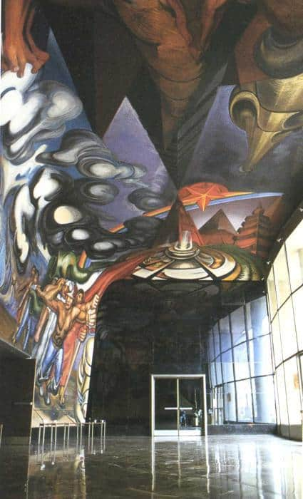 For The Complete Safety Of All Mexicans On Work - David Alfaro Siqueiros