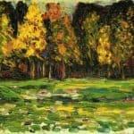 Forest edge  – Isaac Levitan
