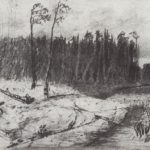 Forest near the water – Arkhip Kuindzhi