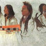 Four Indians   – Albert Bierstadt