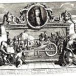Frontispiece and its explanation (Hurdibras) – William Hogarth