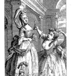 Frontispiece of  Fielding's  'The tragedy of tragedies' – William Hogarth