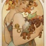 Fruit – Alphonse Mucha