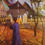 Gabriele Munter painting –  Wassily Kandinsky