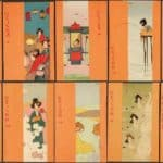 Geisha, orange – Raphael Kirchner