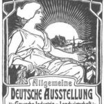 General German poster exhibition for trade, industry and agriculture – Alphonse Mucha