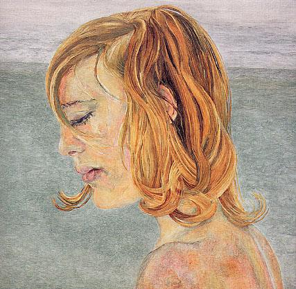 Girl by the Sea - Lucian Freud