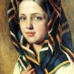 Girl in a Kerchief – Alexey Venetsianov