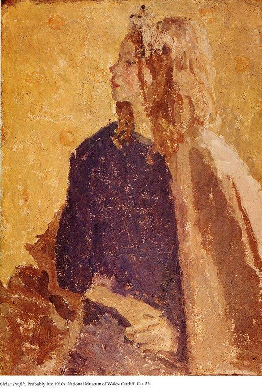 Girl In Profile - Gwen John