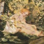 Girl Under the Sun – Konstantin Somov