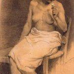 Girl with rose – Alekos Kontopoulos