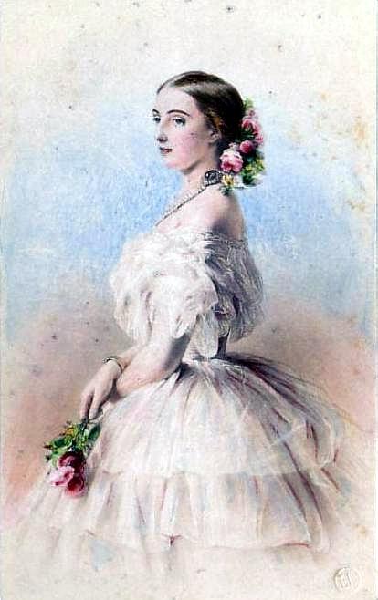 Grand Duchess Of Russia - Olga Feodorovna