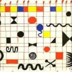 Grid With Symbols  – Alexander Calder