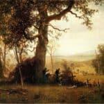 Guerrilla Warfare. Picket Duty in Virginia – Albert Bierstadt