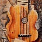 Guitar (I love Eva) – Pablo Picasso