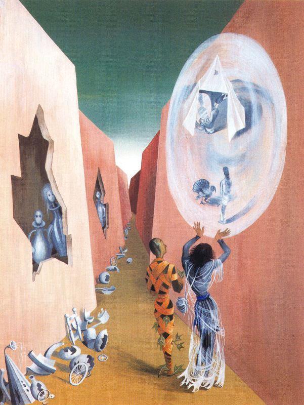 Gypsy And Harlequin – Remedios Varo