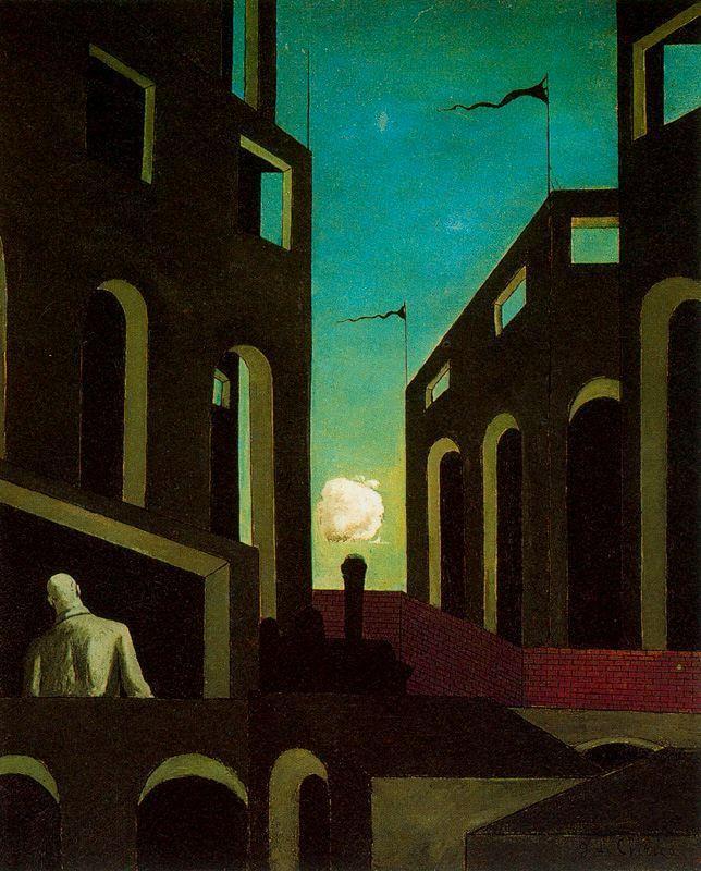 Happiness of returning - Giorgio de Chirico