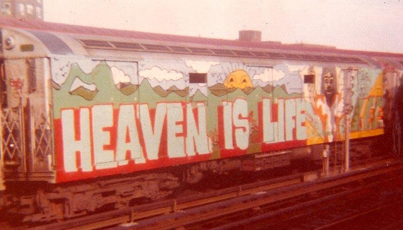 Heaven Is Life - Lee Quinones