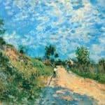 Hill Path – Alfred Sisley