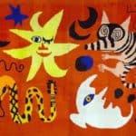 Hooked Rug  – Alexander Calder