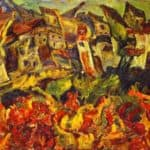 Houses with Pointed Roofs – Chaim Soutine