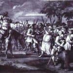 Hudibras' First Adventure, from 'Hudibras' by Samuel Butler – William Hogarth