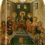 Icon The Descent of the Holy Spirit  – Yov Kondzelevych