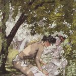 Illustration to the novel Daphnis and Chloe 2 – Konstantin Somov