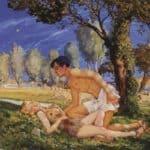 Illustration to the novel Daphnis and Chloe 4 – Konstantin Somov
