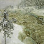 Imatra in Winter – Akseli Gallen-Kallela